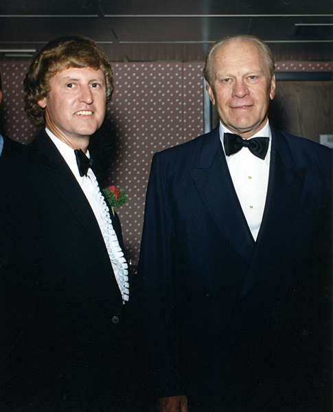 Ricter and President Gerald Ford