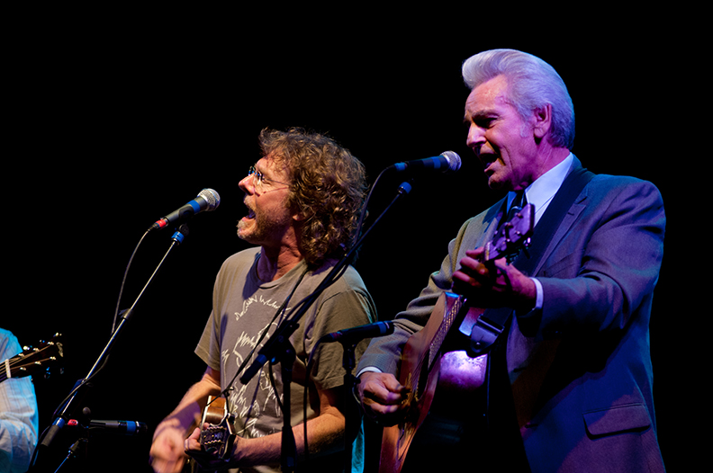 Sam Bush, Ralph Stanley